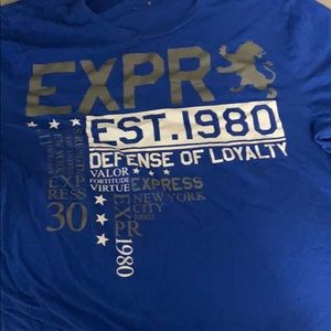 Express t shirt medium graphic T